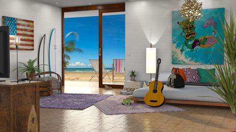 Surf Culture Bedroom - Bedroom - by GraceKathryn