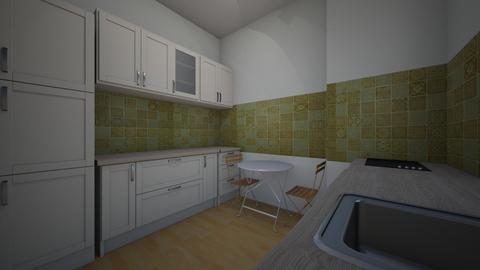 var 2 - Kitchen - by Flori Santa