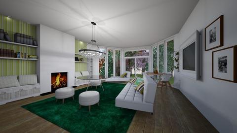 sheeps - Living room - by Marta Perkowska