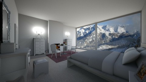 Alpes Bedroom - by Sophie Cordeiro