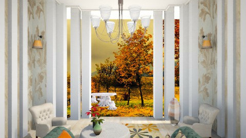 the 3rd season  - Classic - Living room - by Sara alwhatever