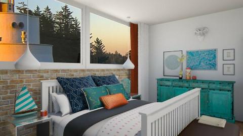 Bedroom - Rustic - Bedroom - by helenlin06