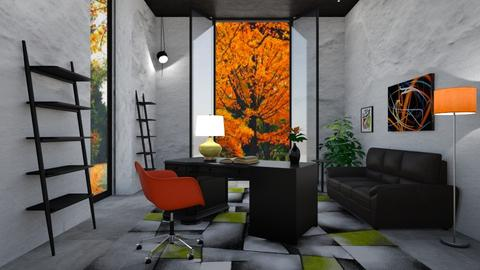 Autumn Office Deco  - by ritsa