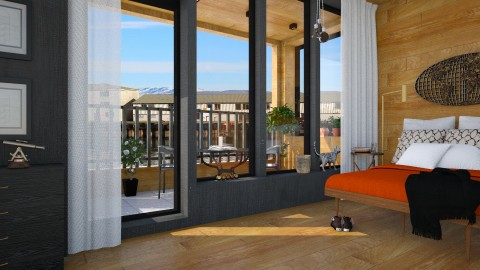 Hofn - Modern - Bedroom - by evahassing