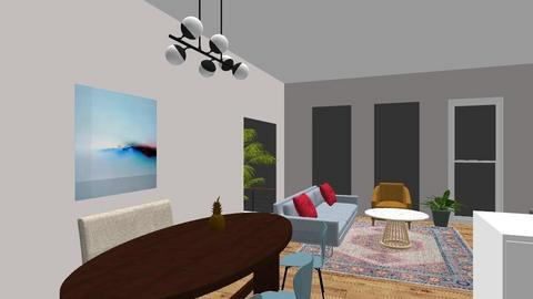 shamims house - Living room - by viopio