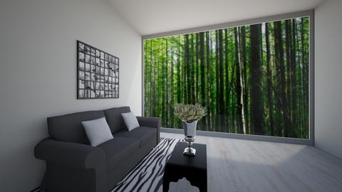 Woodland Living - Modern - Living room - by Itsjustme1