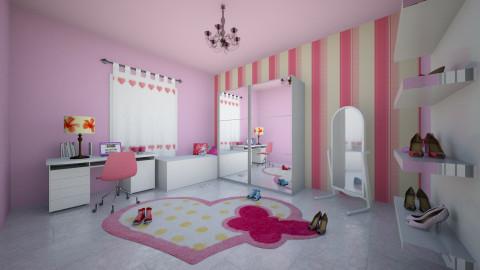 Little room - Bedroom - by Rayssa_Nunes