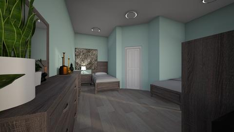 2 twin room mpdern - Modern - Kids room - by jade1111