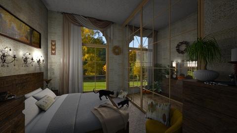 Falloween bedroom - Bedroom - by sandra_a