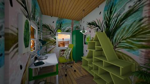 Urban Jungle Office - Office - by Applestyler