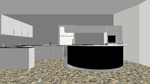Grand Kitchen - Glamour - Kitchen - by mlplover