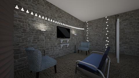 basement - Living room - by nicoledima1997