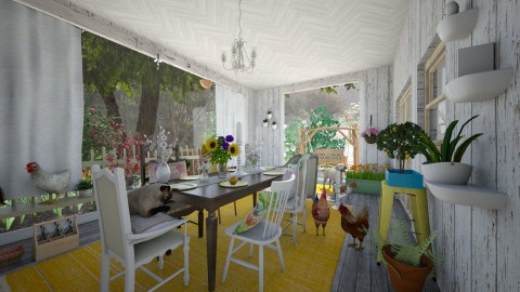 Grannys Porch - Country - Garden - by PippyLStocking