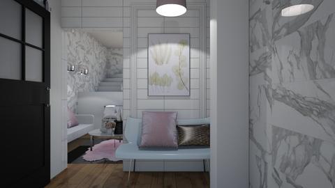 Hallway View - Modern - Living room - by XiraFizade