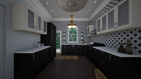 Looe House  - Kitchen - by Lisett