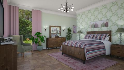 For SammyJPili - Eclectic - Bedroom - by Theadora