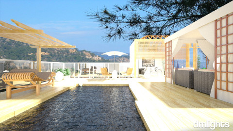 villa by the riviera - Country - Garden - by DMLights-user-982918