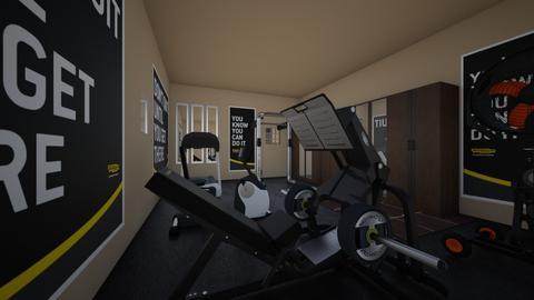 gym - by hiremirandas