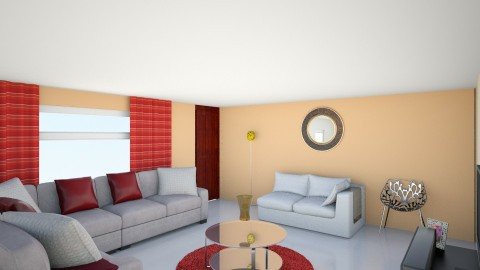 Living area dec 3 - Living room - by TamikaDM