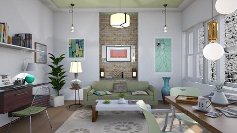 M_Work from home - Living room - by milyca8