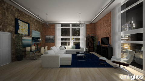new york - Living room - by grigoriap