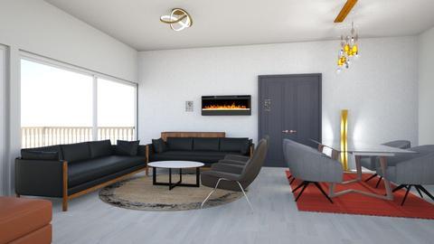 SALON - Living room - by Btissam Amnad