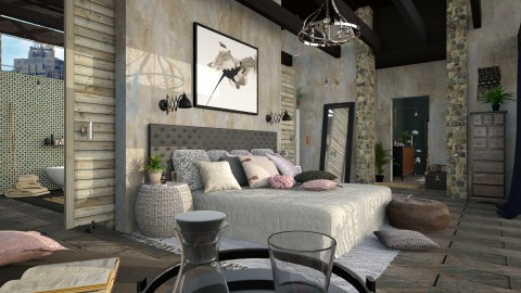 Bedroom Suite II - Eclectic - Bedroom - by evahassing