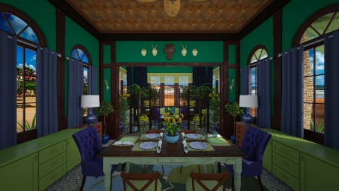 Dining and Living Room - Eclectic - by Pirschjaeger