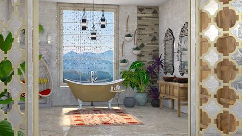 bathe - Global - Bathroom - by kitty