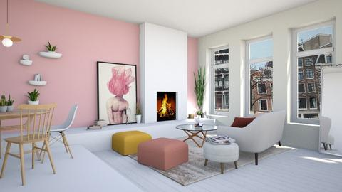 student apartment - Living room - by maudberg01