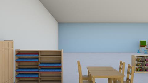 Emma Kodner - Kids room - by BWWCLWDQVKCYLUVFTPRHAQBYFQNFBXX
