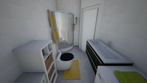 bathroom with slant - Bathroom - by AleksaM