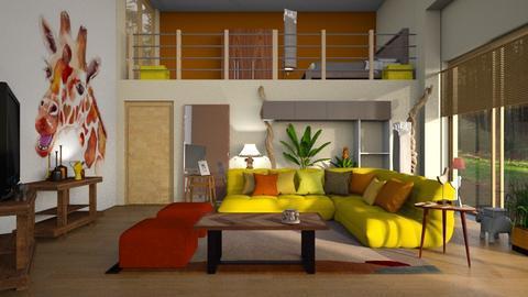 daktari - Living room - by BortikZemec