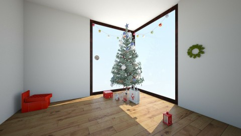 Christmas - Living room - by irasemaarcibar