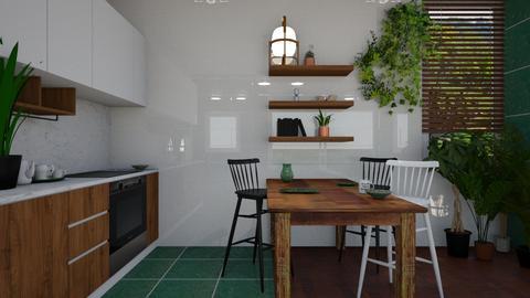 normalcook - Dining room - by Pamela Luna Wojciukiewicz