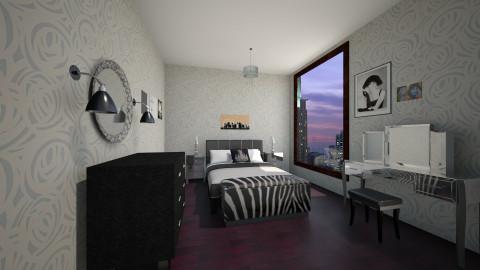 Art deco  - Glamour - Bedroom - by Jacqueline De la Guia