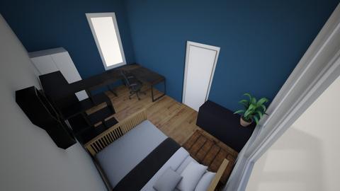 Ingericht boven2 - Bedroom - by Finnoost