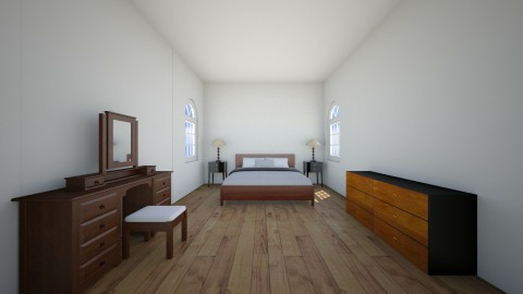 modern bedroom - Modern - Bedroom - by ingramam1210