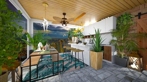 Urban Jungle Kitchen - Kitchen - by rungsimas