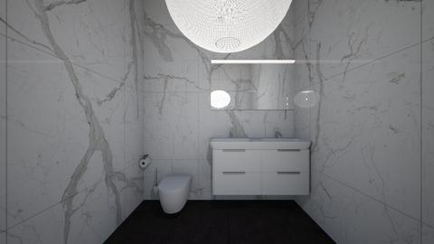 bathroom - Modern - Bathroom - by hannahhennil