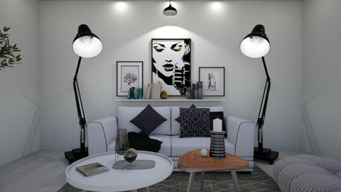 MADSEN template - Living room - by racheycakes38