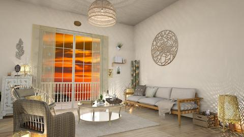 bamboo living 2 - Living room - by Valerie Meiner
