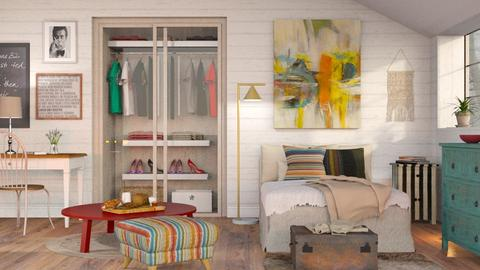 Eclectic Bedroom 2 - Eclectic - Bedroom - by Sally Simpson