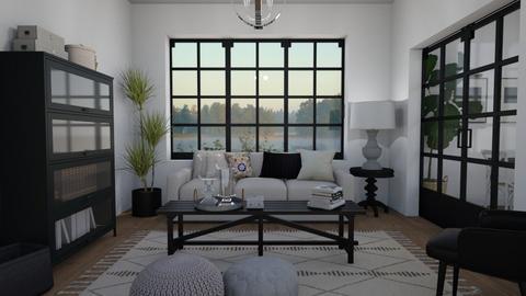 Magnolia etc - Living room - by Tuija