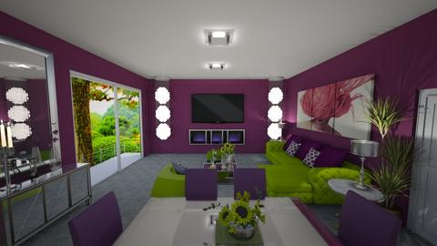 Prueba - Living room - by virgen