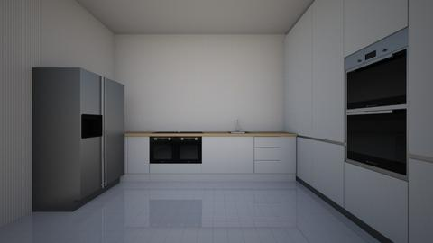 simple kitchen - Classic - Kitchen - by SARAH OUHIB