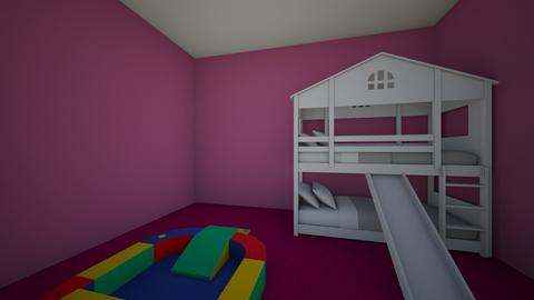 Lil Sisters First Design - Bedroom - by Julie Tubbs