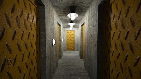 B7 Bunker Corridor - by SammyJPili