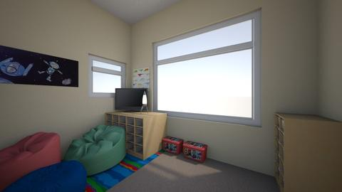 Boys room art full view 1 - Kids room - by Kmstyles84