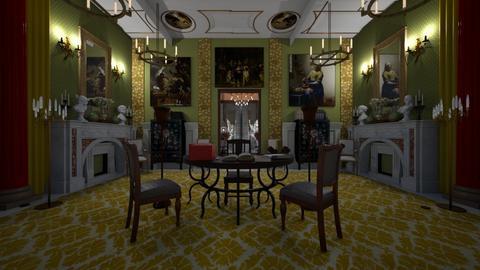 Royal office - Vintage - Office - by kristenaK